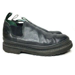 Georgia Giant Steel Toe Romeo Pull On Boots Black